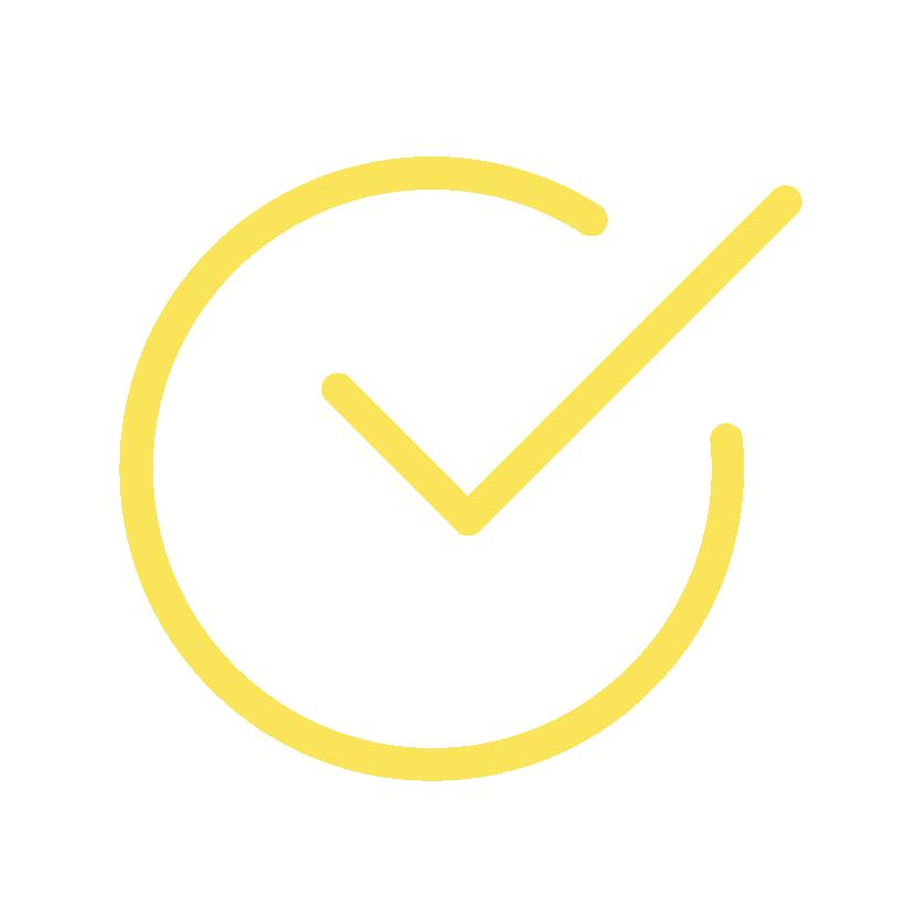 Checkmark-Yellow