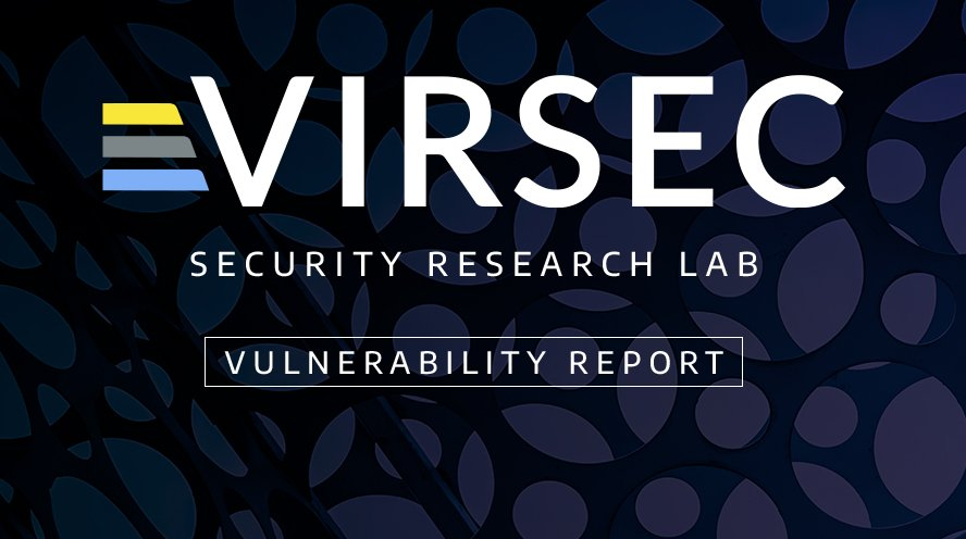 Virsec Security Research Lab